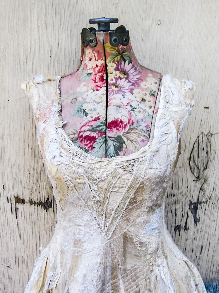 the Sacred White dress, custom made for Courtney Love, 2013