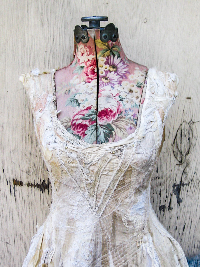 the Sacred White dress, custom made for Courtney Love, 2013